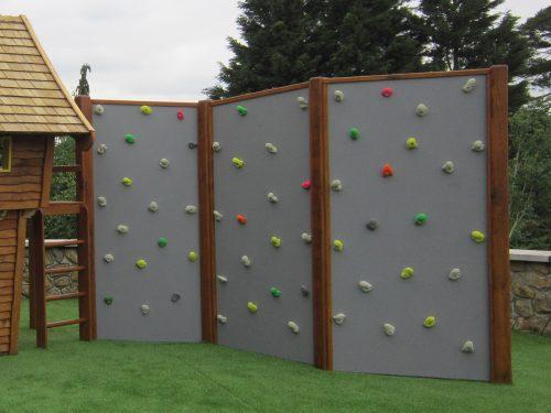 Vertical Climb Wall Coloured