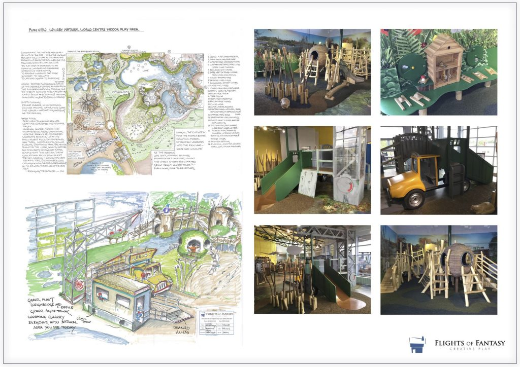 Whisby Natural World Design Development Plans To Reality