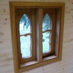 Window Styling Pinewood Hideaway Custom Built Bespoke Treehouse Playhouse