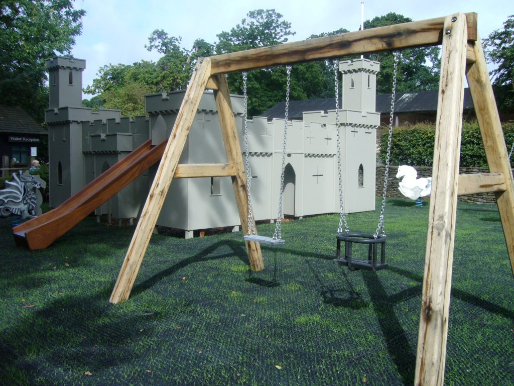 Wings And Castle Croft Castle Childrens Outdoor Play Area And Wooden Castle 1