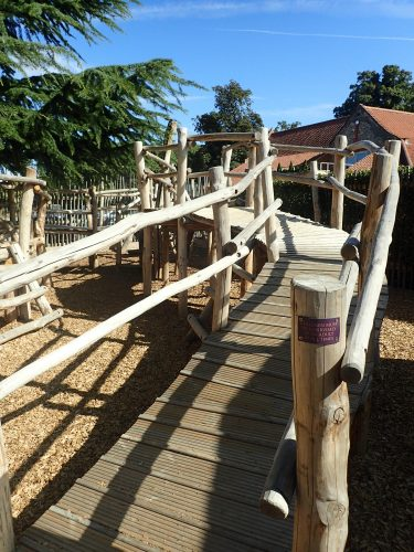 Wooden Boardwalk Ffolkes Arms Hotel Adventure Play Area E1513015404939