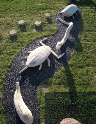 Wooden Carvings Abberton Reservoir Childrens Outdoor Play Area By Flights Of Fantasy E1481994489989