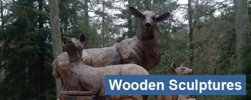 Wooden Sculptures & Carvings