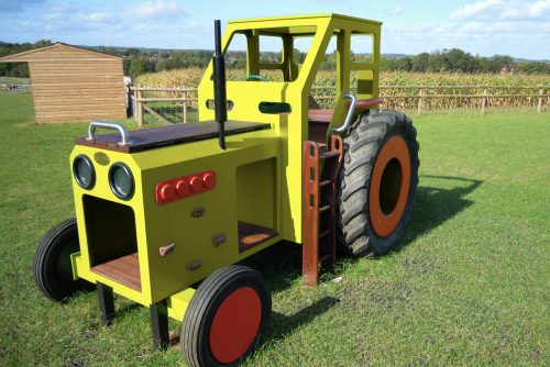 Yellow Play Tractor