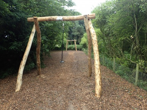 Zip Line Fountains Abbey And Studley Foyal Extensive Rustic Outdoor Woodland Play Area By Flights Of Fantasy