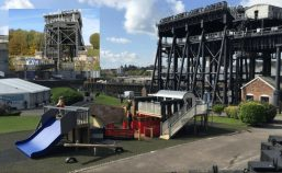 anderton boat lift miniature replica play area