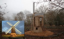 avoncroft museum windmill play replica
