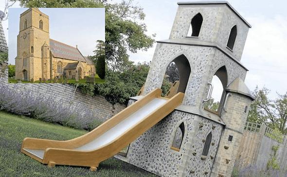 barton bendish church miniature play replica