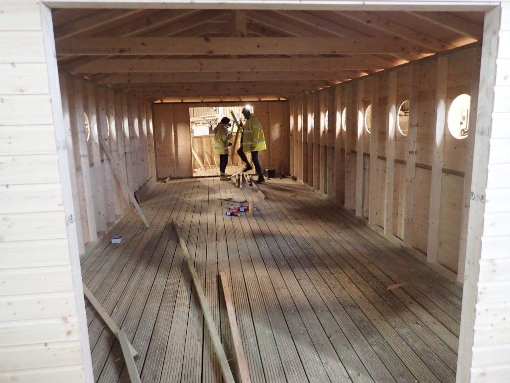 building noahs ark interior