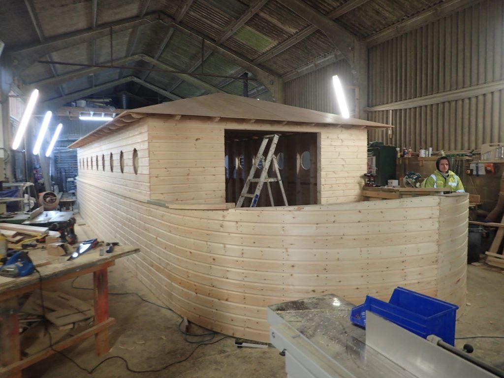 building noahs ark stern