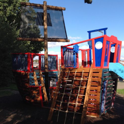 cargo net great meols primary school pirate ship