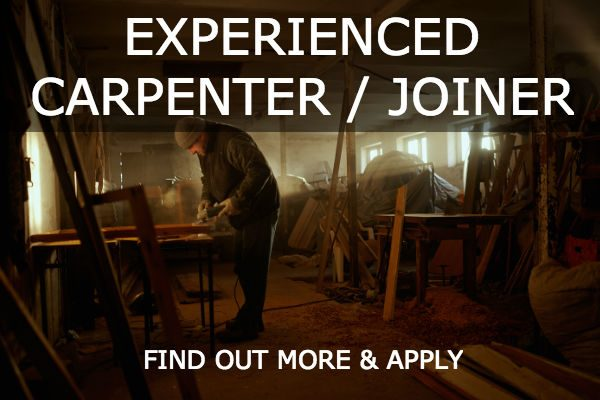 experienced carpenter joiner