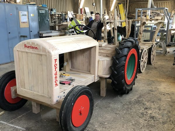 fordson tractor work in progress 1
