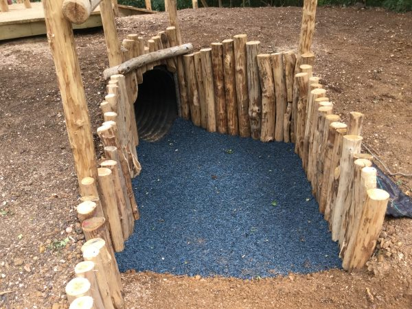 foxhole tunnel rushden lakes play area