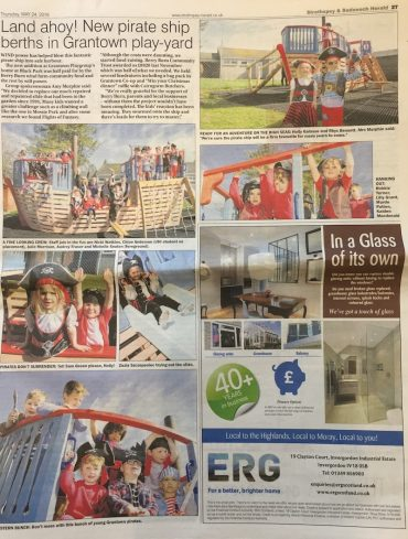 grantown pirate ship article strathspey herald