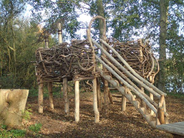 herons nest play