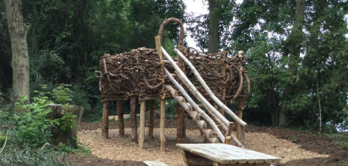herons nest play area at rushden lakes