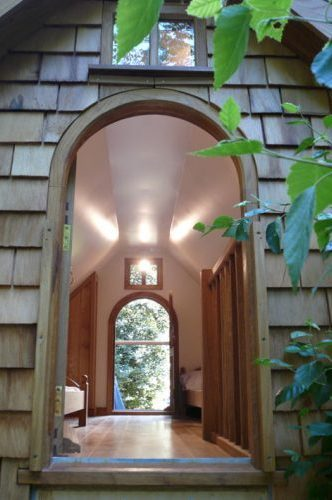 interior walnut cottage two storey custom built wooden play house playhouse with shingle roof 374x500