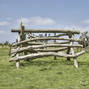 Log Pile Play Equipment