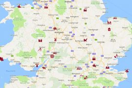 map of uk play areas