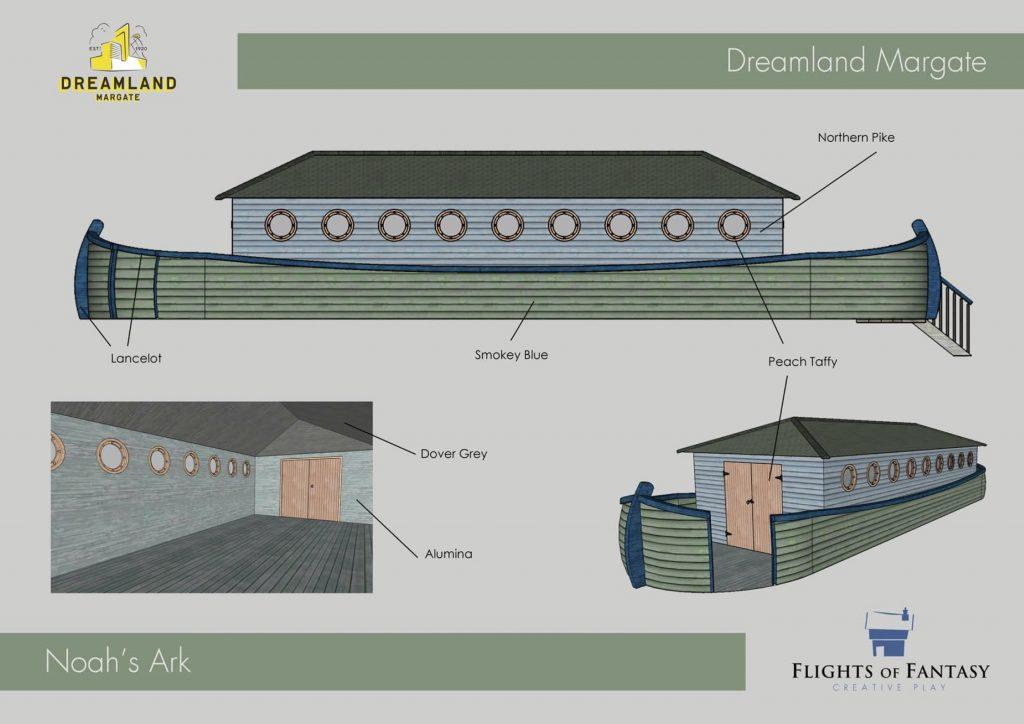 How We Built Noah S Ark Flights Of Fantasy