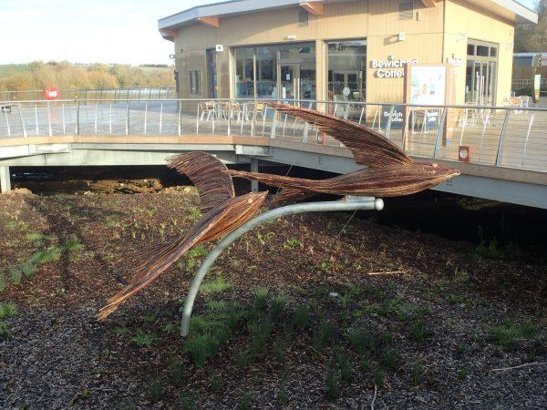 racing swallows rushden lakes sculptures