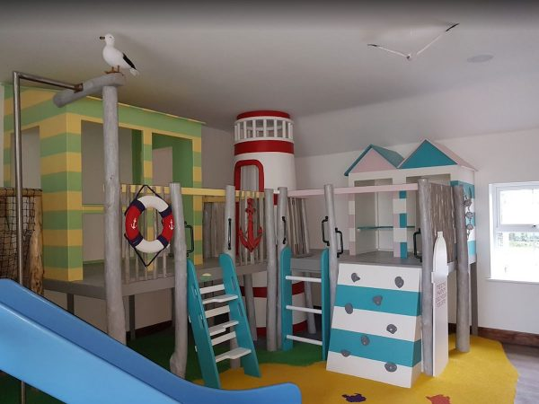right hand side of little kings indoor play area