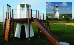 rspb newport east usk lighthouse miniature play replica