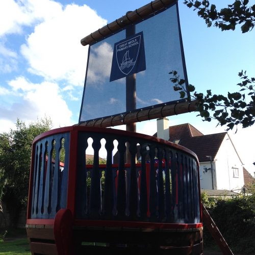 sail great meols primary school pirate ship