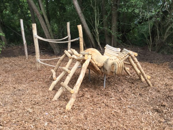 spider climb rushden lakes play area