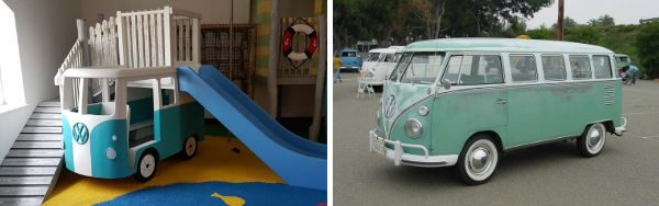vw camper play replica
