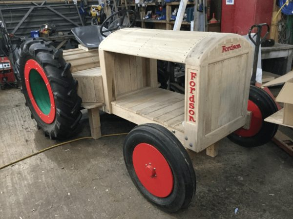 work in progress fordson tractor for museum of english rural life